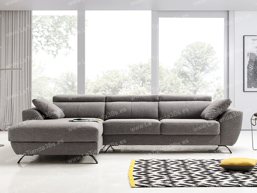 Sofa Chaiselongue Cerdeña 2 LaTienda3Bs